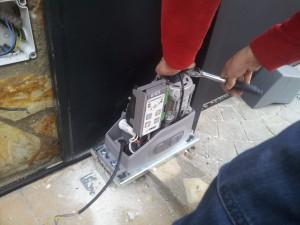 Mantenimiento de puertas de garaje en Alcobendas